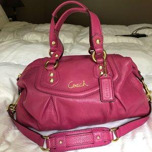 Coach Leather Purse, Pink